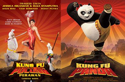 Kungfu Panda VS Kungfu Pocong Perawan