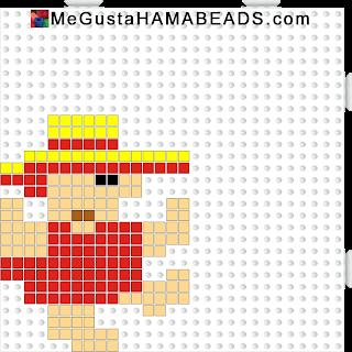 hama beads montezuma