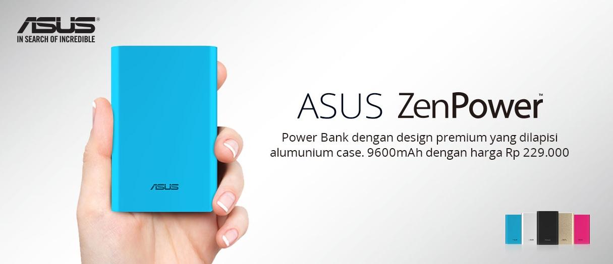 Harga ASUS ZenPower 9600mAh ASUS Store ID