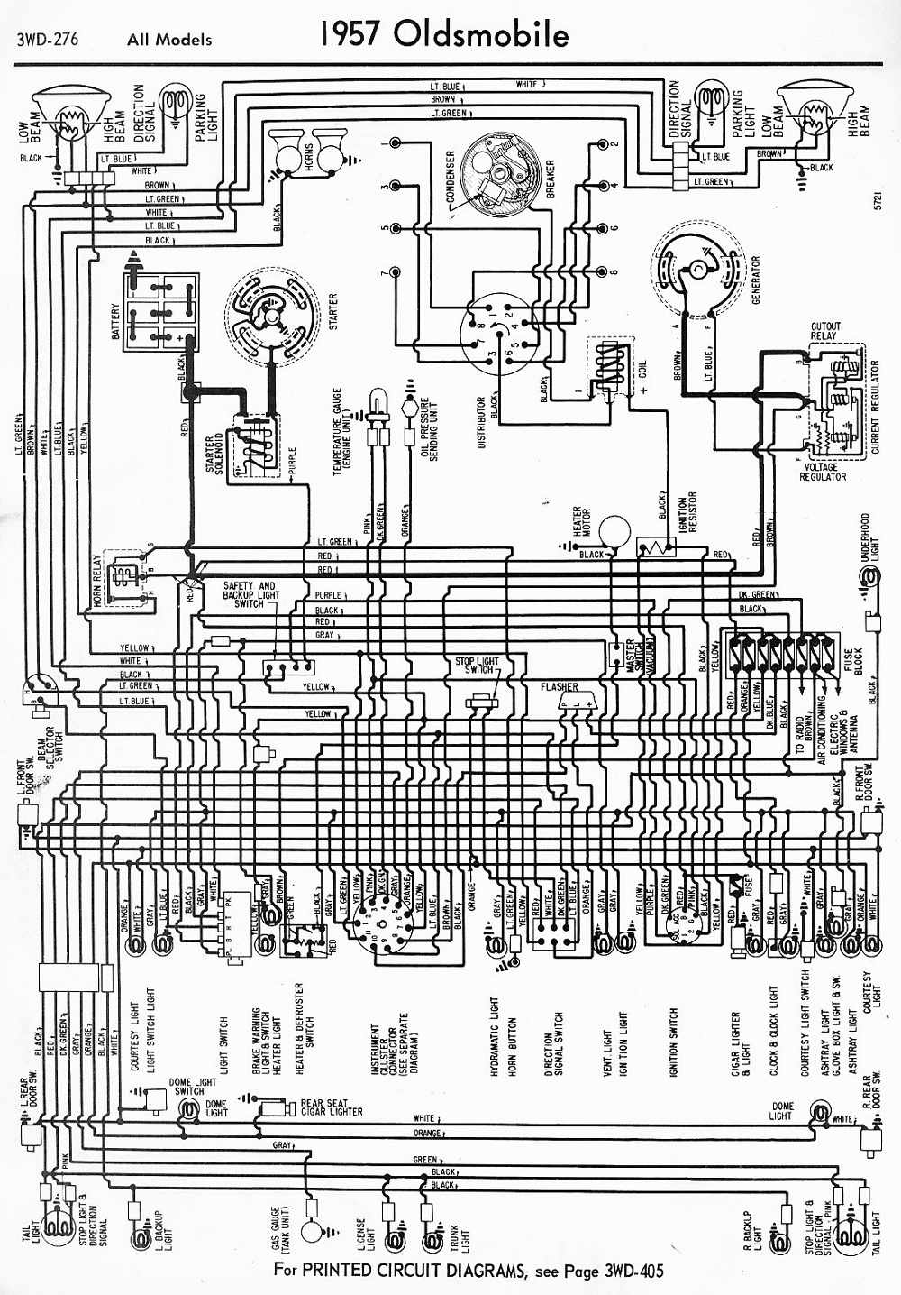 Wiring Diagrams 911 December 2011 Starting Circuit Diagram For The 1955 Mercury All Models Of 1957 Oldsmobile