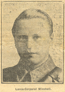Lance Corporal Minshall