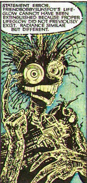 the great comic book heroes  warlock from new mutants  21