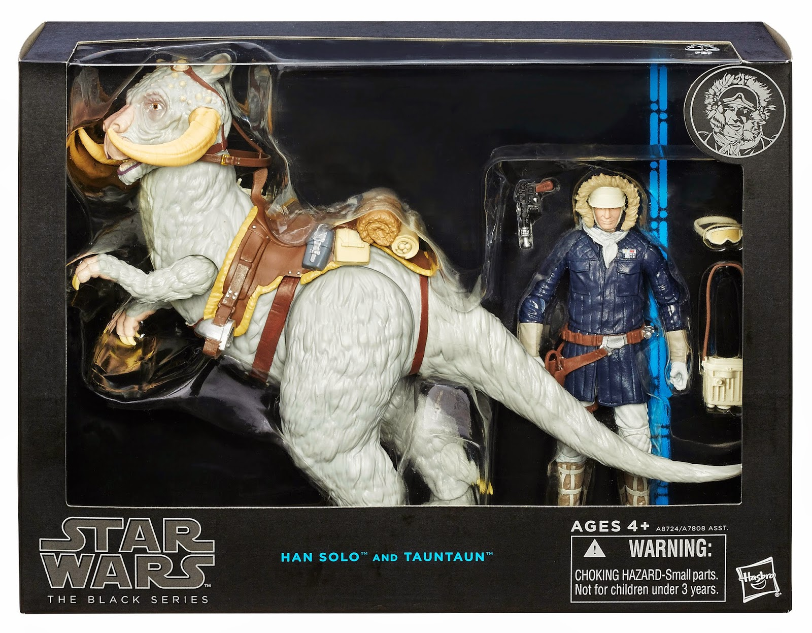 "Hasbro - Star Wars - 6"" Inch Black Series - Han Solo and Tauntaun"