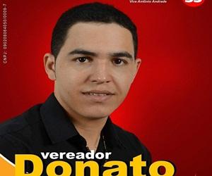 Vereador Donato da cidade de Bom Jardim - PE