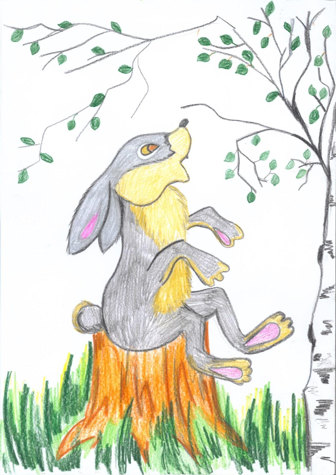 Картинки сказка мамин сибиряк про храброго зайца 14