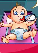Четыре младенца - Онлайн игра для девочек