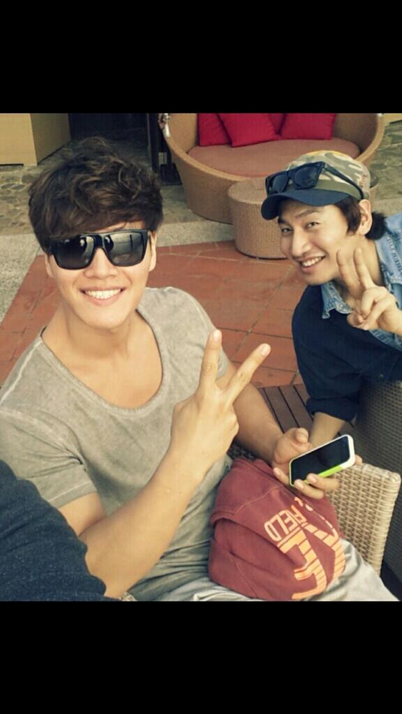 Lee Kwang Soo & Kim Jong Kook