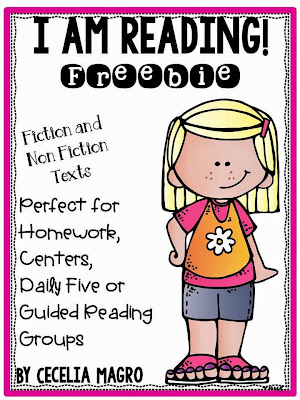 https://www.teacherspayteachers.com/Product/I-am-Reading-Freebie-1869258
