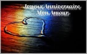 Sms d'amour joyeux anniversaire
