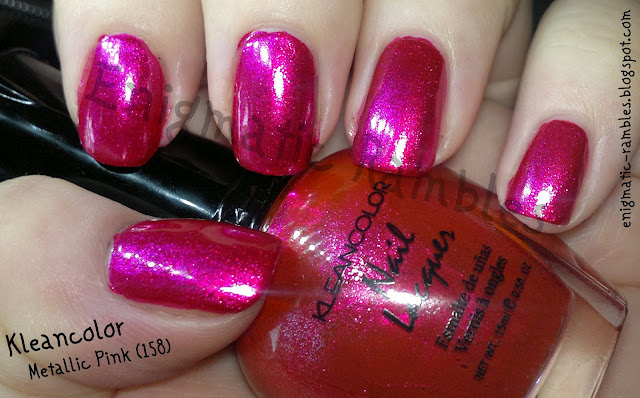 swatch-kleancolor-metallic-pink-158