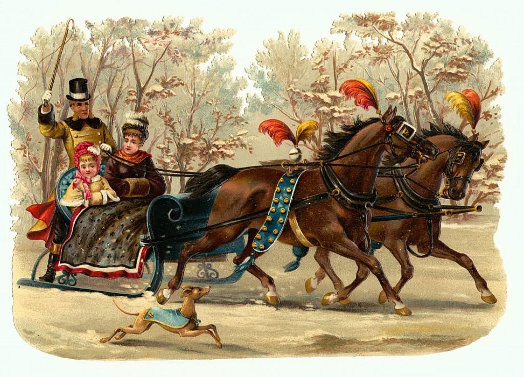 victorian christmas scenes - photo #43
