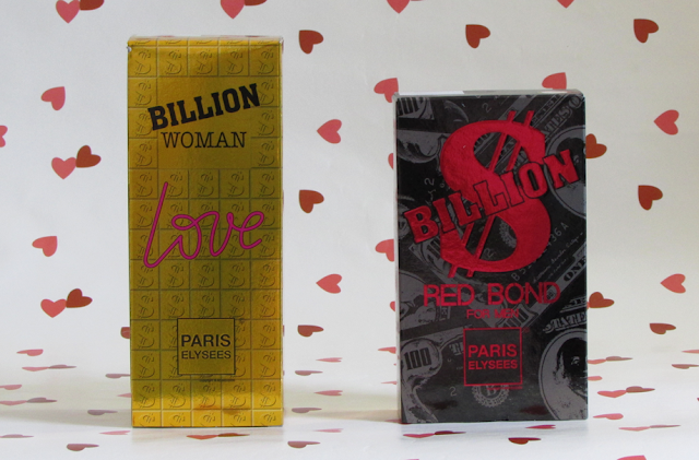 Billion Woman Love e Billion Red Bond Men - Paris Elysées