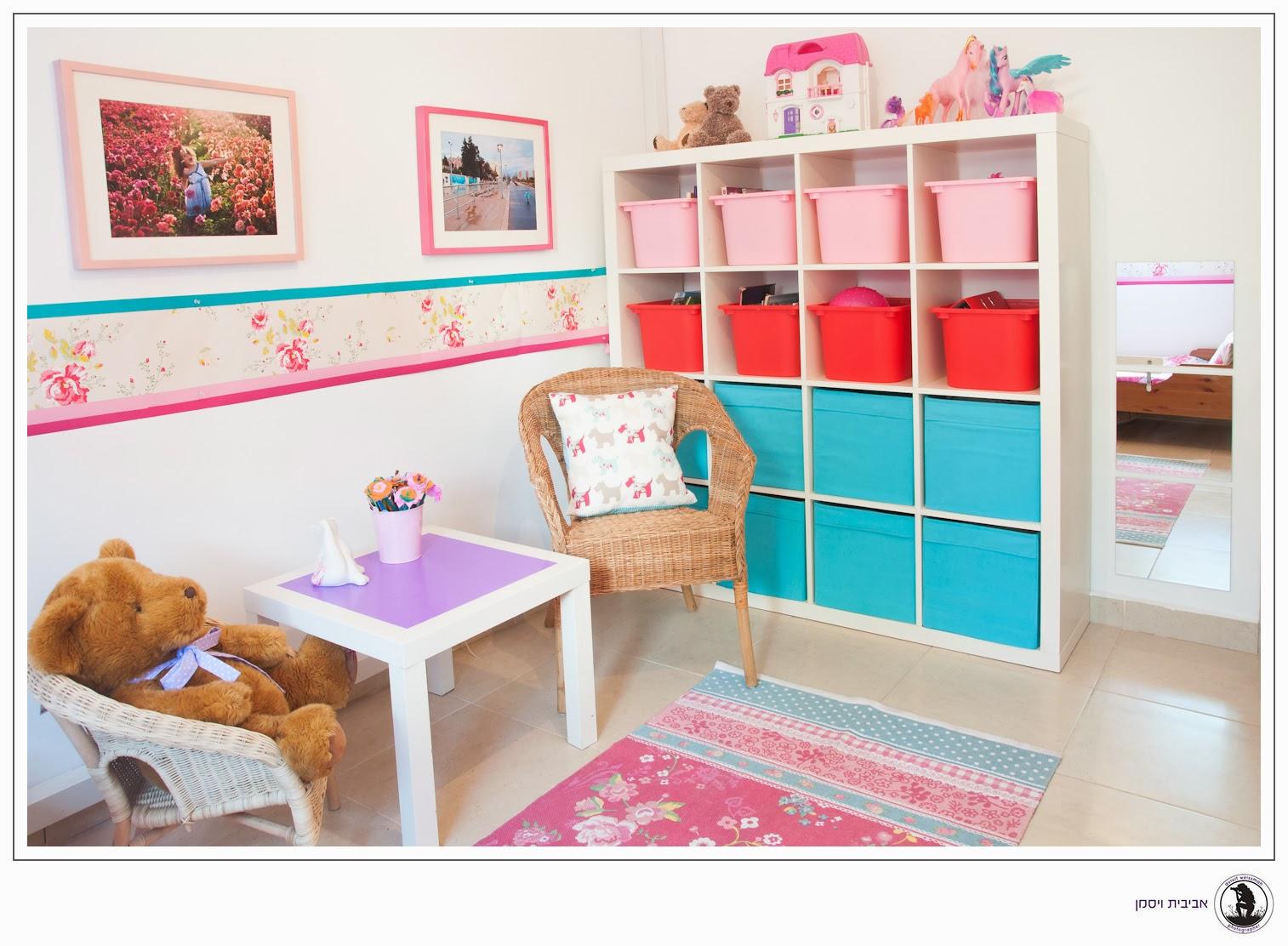 עיצוב חדר ילדים - פוסט אורח יונית שטרן