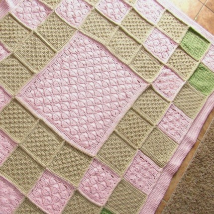 Diamonds In Pink - Free Pattern