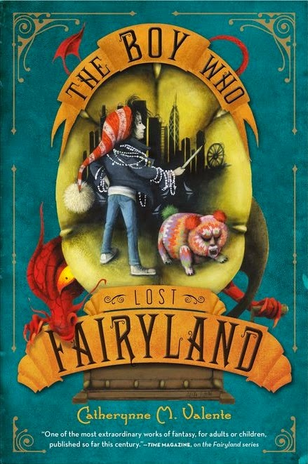 the boy who lost fairyland by catherynne m. valente book cover