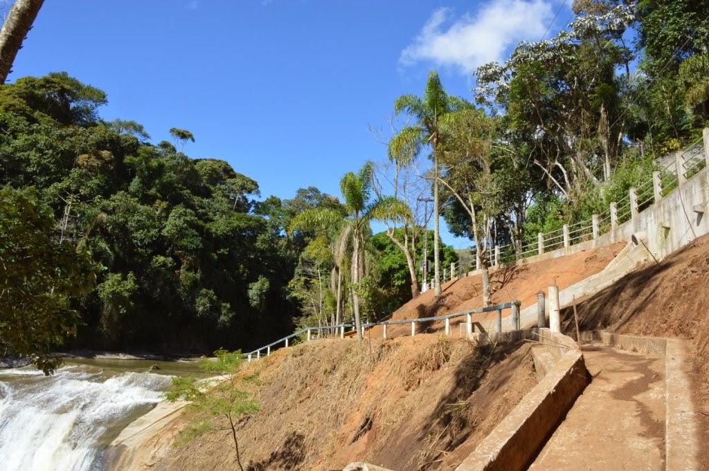 Um dos principais atrativos turísticos de Teresópolis, a Cascada do Imbuí está sendo revitalizada