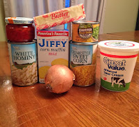 Easy Corn and Hominy Casserole Recipe
