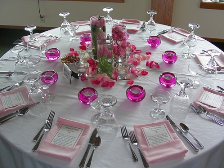 Wedding Reception Table Centerpieces