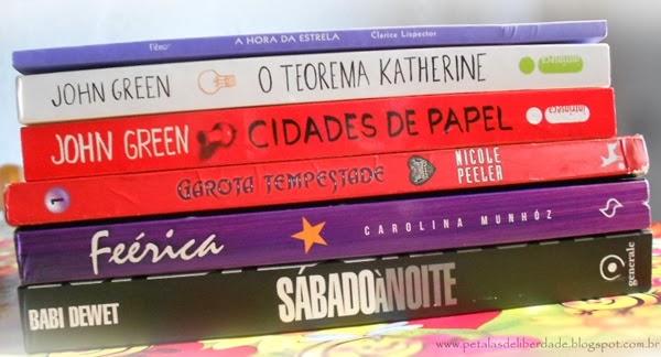 caixa de correio, livros, dezembro, John Green, Carolina Munhóz