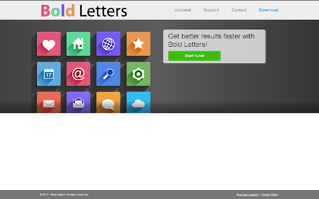Bold Letters