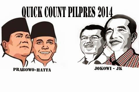 Quick Count Pilpres 2014: Jokowi-JK Unggul, TVOne Memang Beda