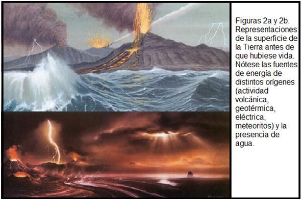Resultado de imagen de La atmósfera primitiva de la Tierra