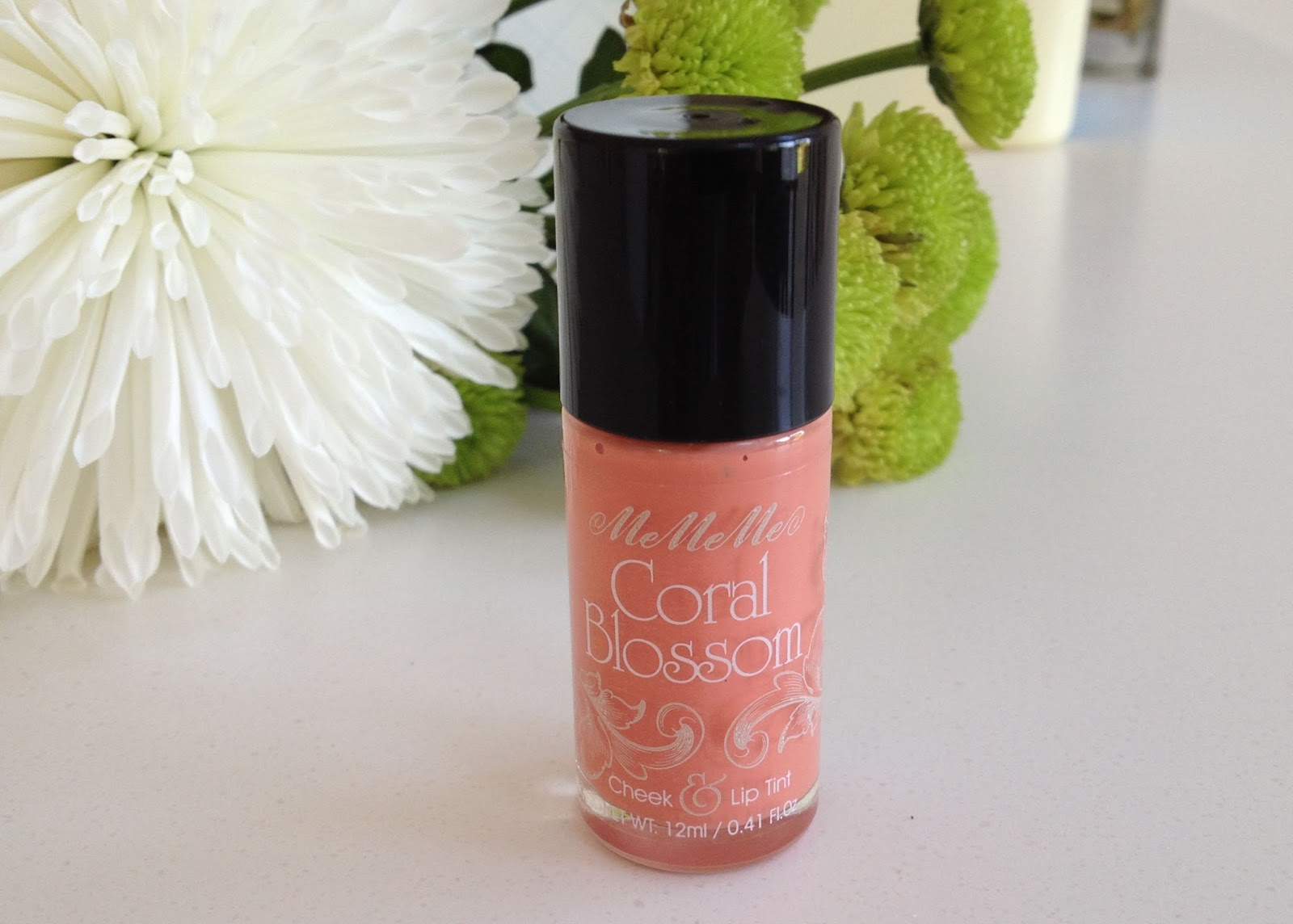 MeMeMe Cosmetics Coral Blossom Lip and Cheek Tint