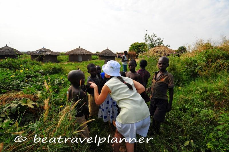 Bimbi di un villaggio profughi - Uganda