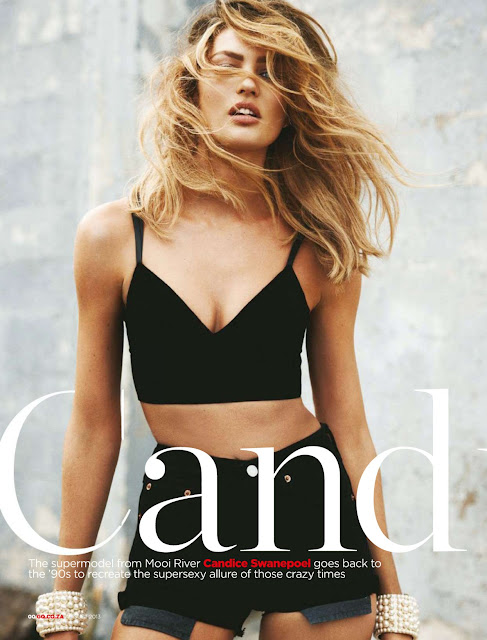 Candice Swanepoel gq south africa 2013