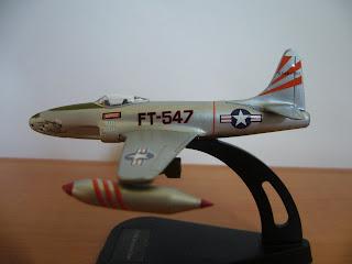 coleccion de aviones en miniatura de Italeri P-80/F-80 Shooting Star