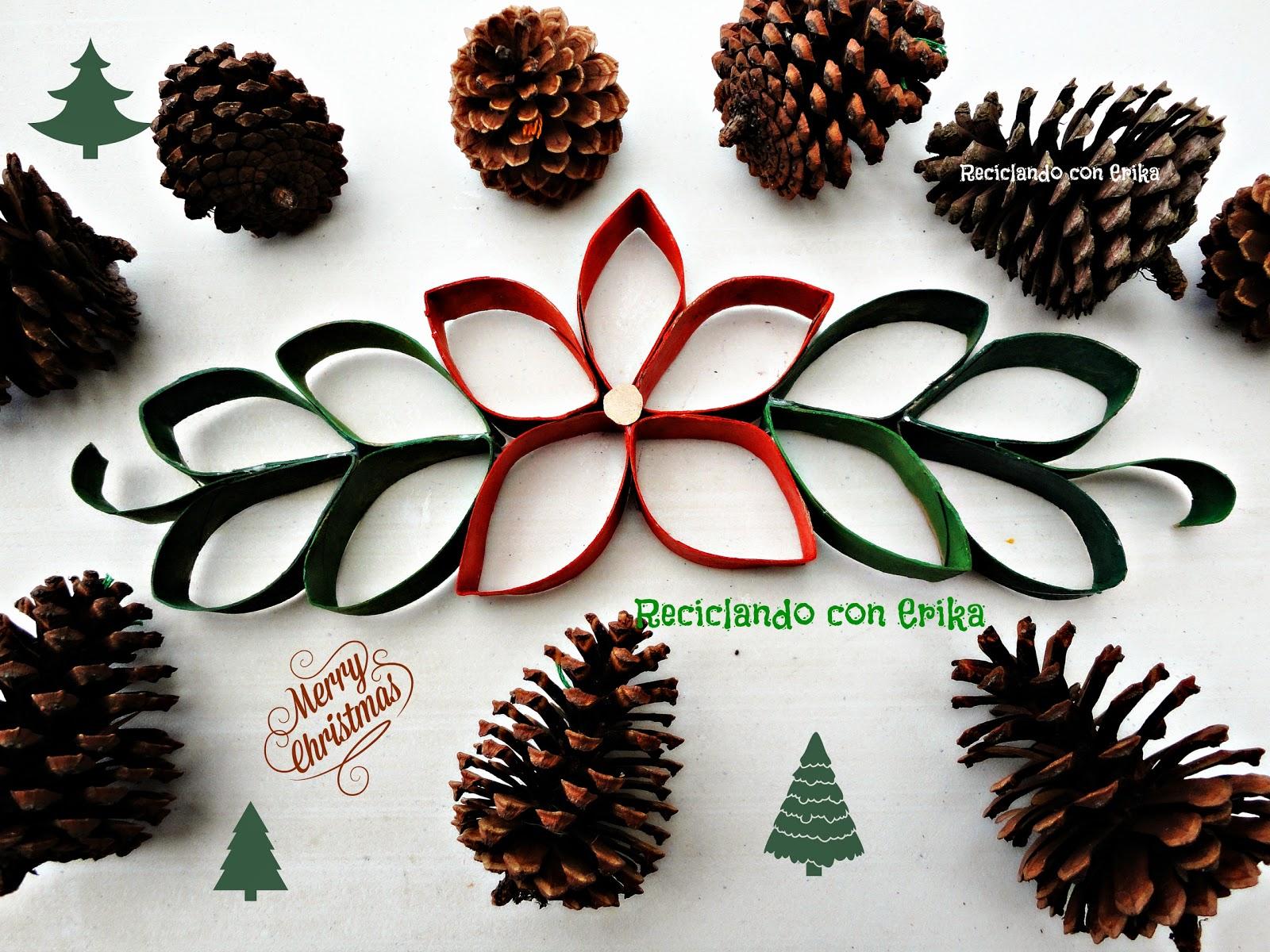Tubos de carton for Adornos de navidad con carton
