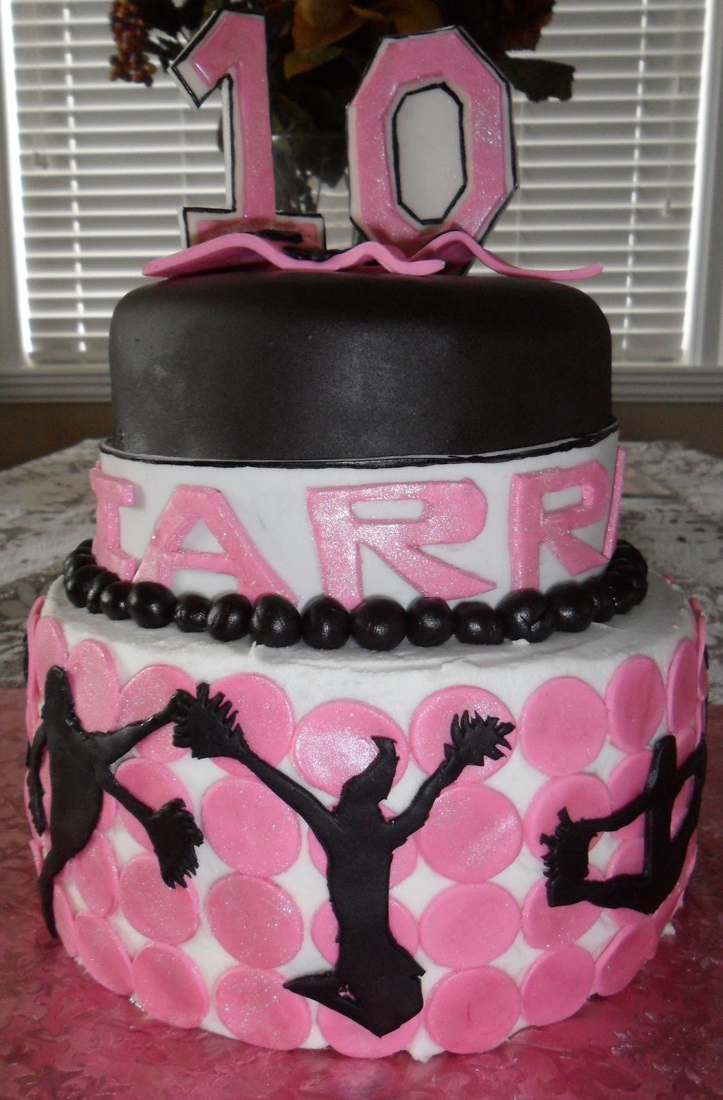 This Isn T The First Cheerleading Theme Birthday Cake I Ve Done But It
