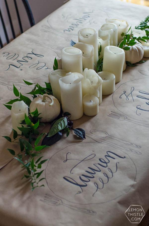 mantel papel diy decoracion nochevieja