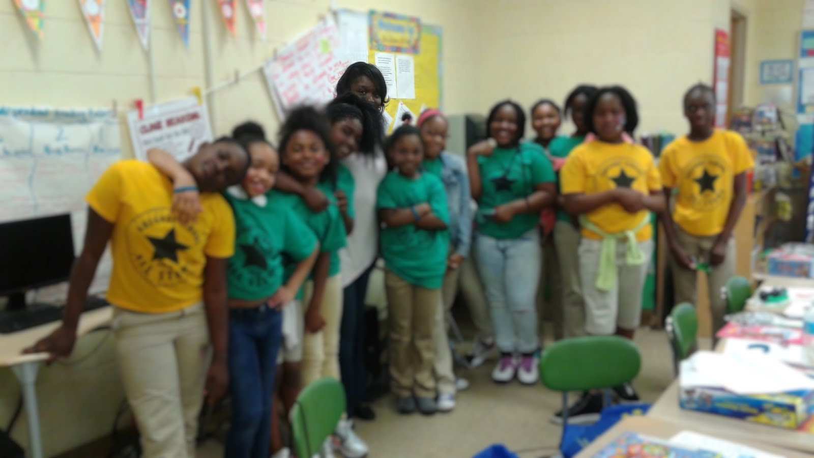 CCFA Trenton Children's Book Festival at Gregory Elementary- 4th Class