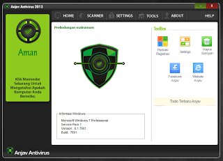 ANJAV Antivirus Indonesia 2013 Rev 1.6 (gratis) - exnim.com