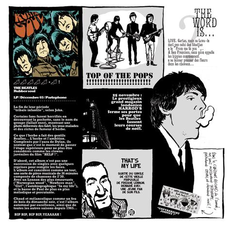 ©Hervé Bourhis - El pequeño libro de los Beatles (Le Petit Livre Beatles) | Libros Pop - LasMilVidas