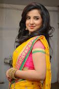 Leema glamorous photos in half saree-thumbnail-4