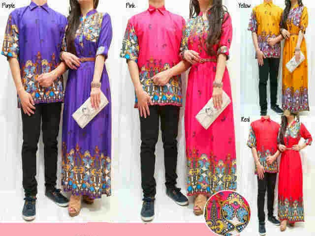 Batik Couple Katun Bangkok
