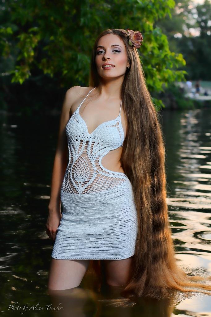 Long Hair Women Nude 8