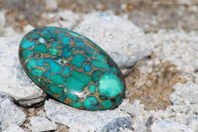 Batu permata Pirus Tembaga - Copper Turquoise