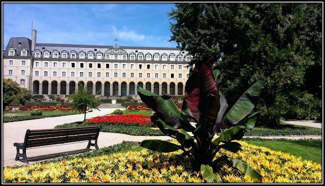 ville Rennes jardin Saint Georges abbaye 1921