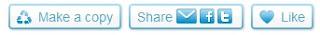 boutons share et like