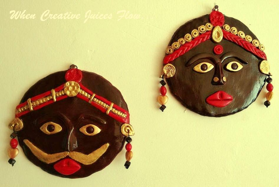 When Creative Juices Flow...: DIY : Tribal Mask