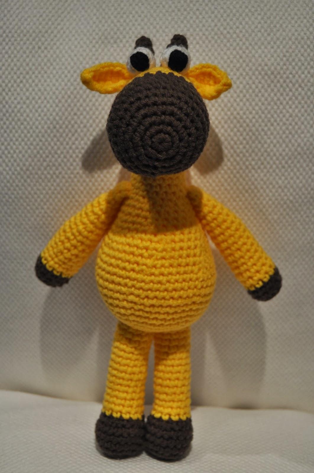 La vaquita de lanita: Amigurumi jirafa... con patrón!