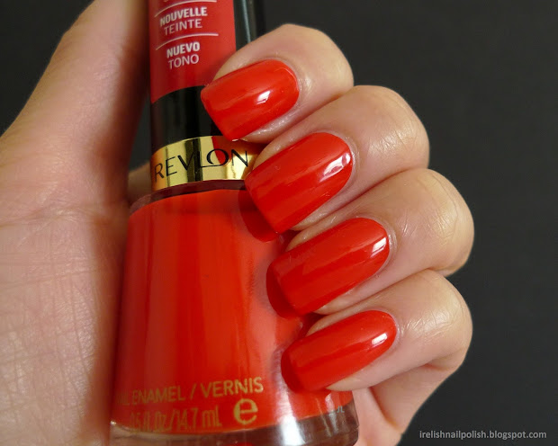 relish nail polish revlon red