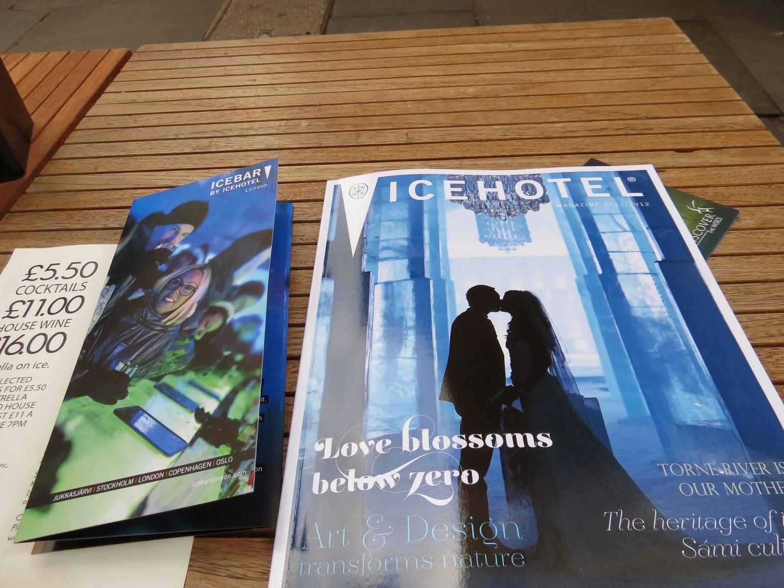 Icehotel brochure
