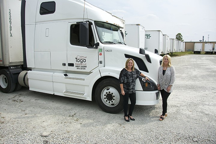 Enterprise Truck Leasing >> * Indiana - Longtime friends bring woman-owned trucking company to Zionsville