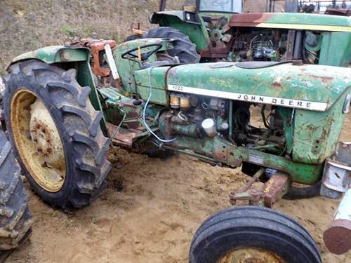 John Deere 1020 tractor parts