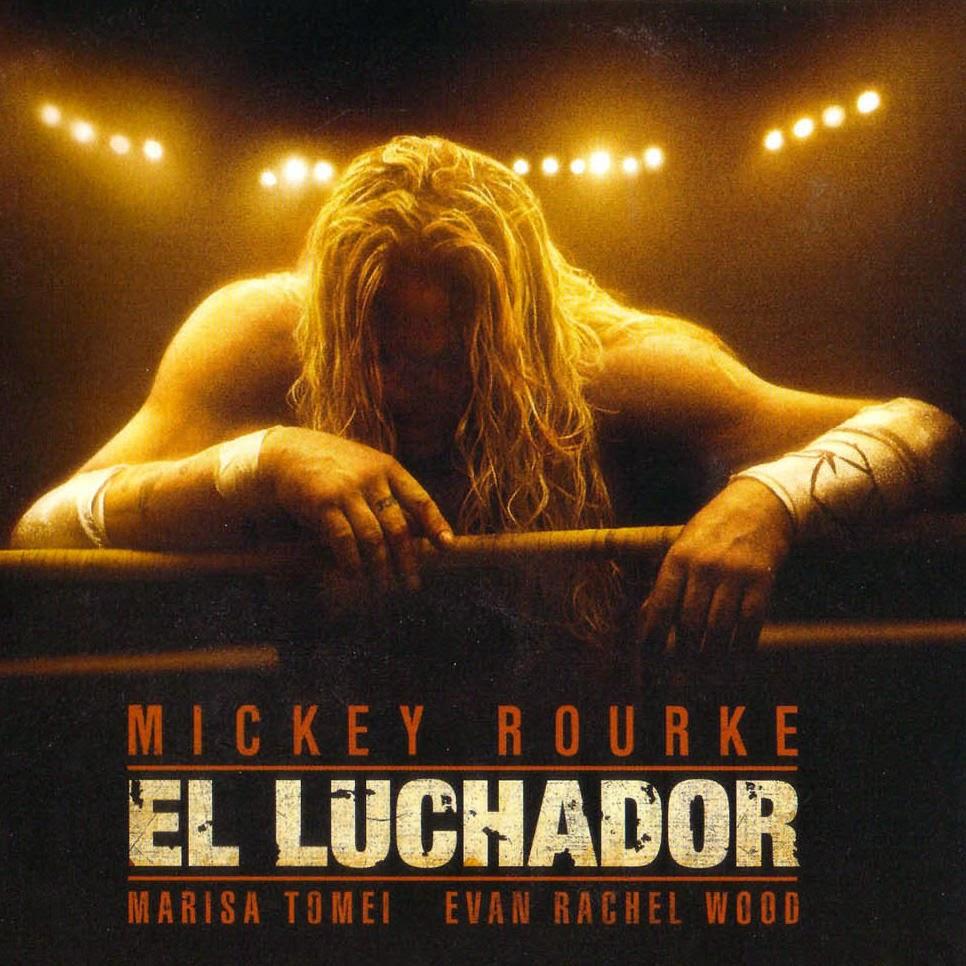 El luchador portada pelicula Mickey Rourke Marisa Tomei Evan Rachel Wood fotogramailustrado