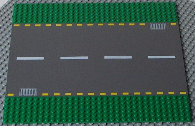 Www Onetwobrick Net Set Database Lego 4110 Straight Road